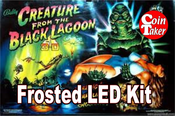 3. CREATURE FROM THE BLACK LAGOON LED Kit w Frosted LEDs