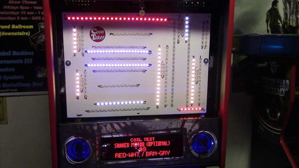 1. Stern Custom Deluxe Interactive LED Backbox Kit