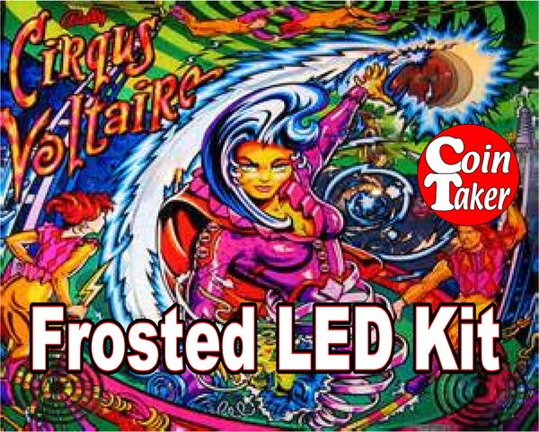 3. CIRQUS VOLTAIRE LED Kit w Frosted LEDs