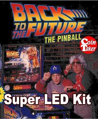 2. BACK TO THE FUTURE LED Kit w Super LEDs