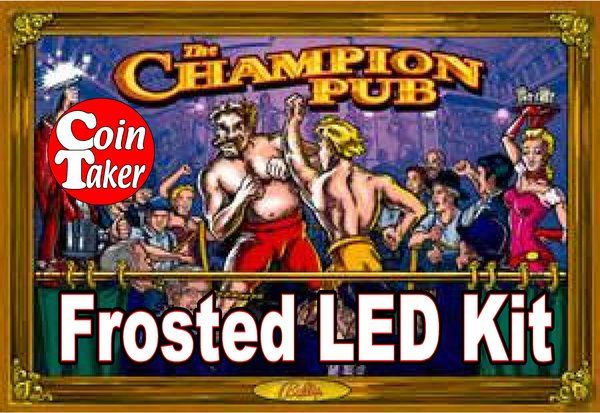 3. CHAMPION PUB LED Kit w Frosted LEDs