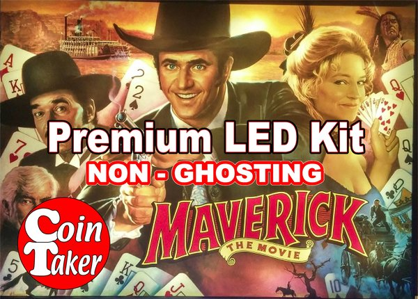1. MAVERICK Kit with Premium Non-Ghosting LEDs