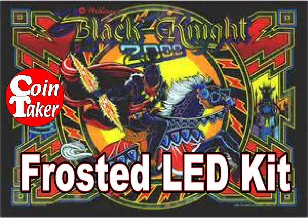 3. BLACK KNIGHT 2000 LED Kit w Frosted LEDs