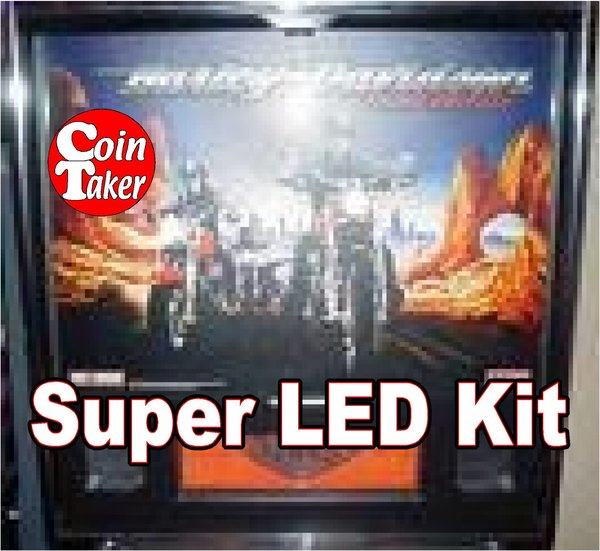 HARLEY DAVIDSON-2 Pro LED Kit w Super LEDs