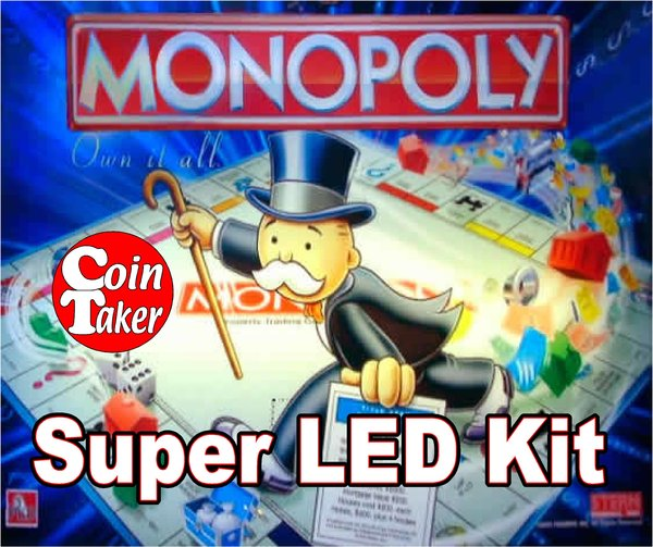 MONOPOLY-2 LED Kit w Super LEDs
