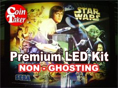 1.  STAR WARS TRILOGY Sega 1997 LED Kit with Premium Non-Ghosting LEDs