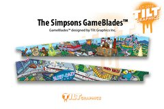 THE SIMPSONS: CITYSCAPE GAMEBLADES