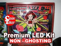 1. LASER BALL LED Kit with Premium Non-Ghosting LEDs