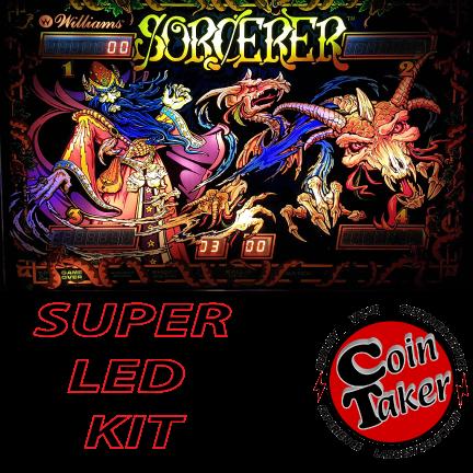 2. SORCERER LED Kit w Super LEDs
