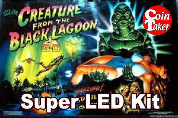 2. CREATURE FROM THE BLACK LAGOON  LED Kit w Super LEDs