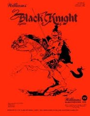 BLACK KNIGHT PINBALL MANUAL (REPRINT)