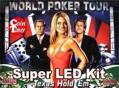 WORLD POKER TOUR-2 Pro LED Kit w Super LEDs