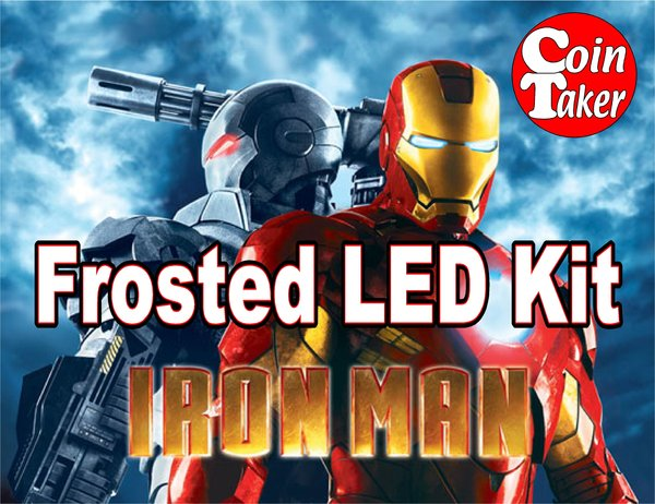 IRON MAN-3 LED Kit w Frosted LEDs