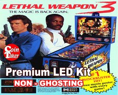 1. LETHAL WEAPON 3 LED Kit with Premium Non-Ghosting LEDs
