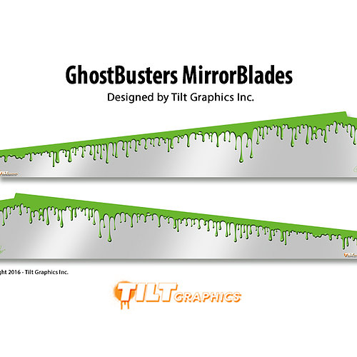 GHOSTBUSTERS MIRRORED GAME BLADES