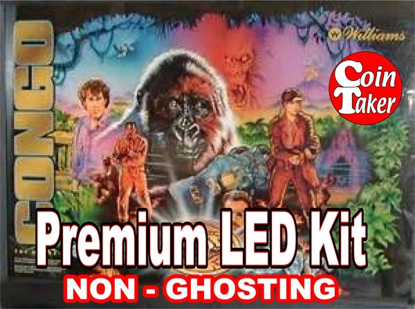 1. CONGO LED Kit with Premium Non-Ghosting LEDs