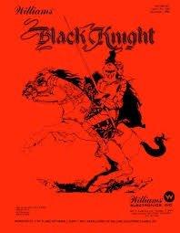 BLACK KNIGHT PINBALL MANUAL (REPRINT)