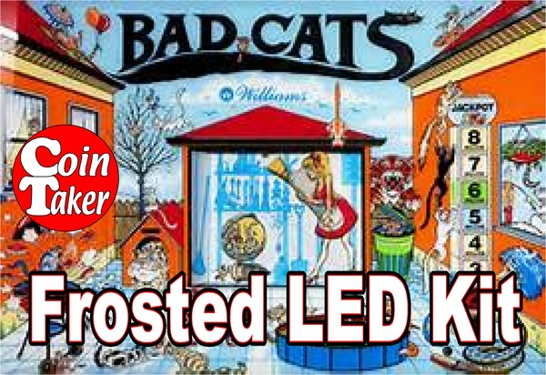 3. BAD CATS LED Kit w Frosted LEDs