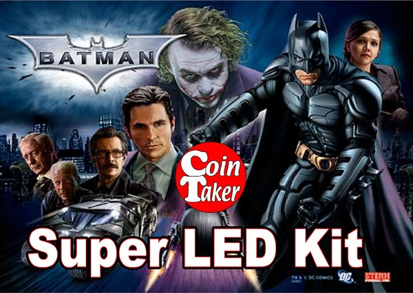 BATMAN-2 Pro LED Kit w Super LEDs