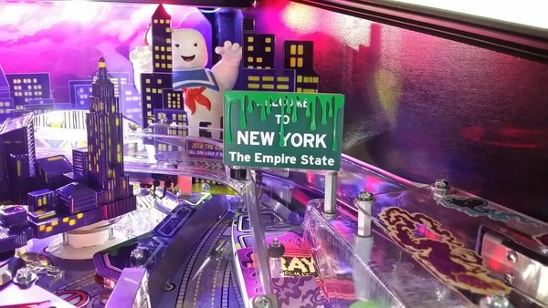 GHOSTBUSTERS NEW YORK SLIME SIGN