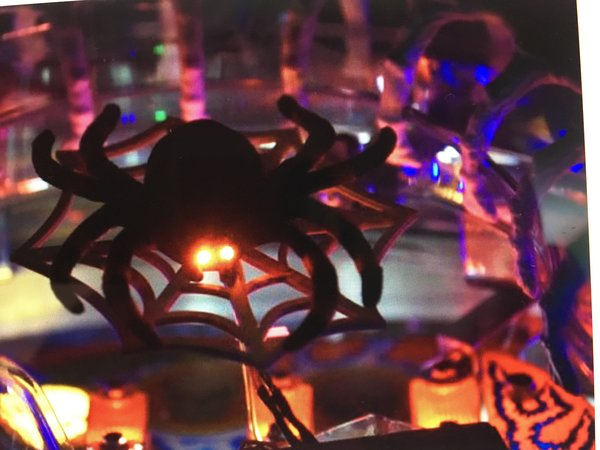 SCARED STIFF ILLUMINATED SPIDER MOD
