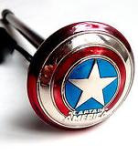 Captain America Custom Pinball Shooter Rod