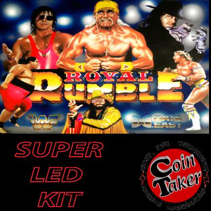 WWF ROYAL RUMBLE LED Kit w Super LEDs