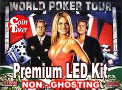 WORLD POKER TOUR-1 Pro LED Kit w Premium Non-Ghosting LEDs