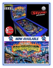 PABST BLUE RIBBON - PBR CAN CRUSHER PINBALL
