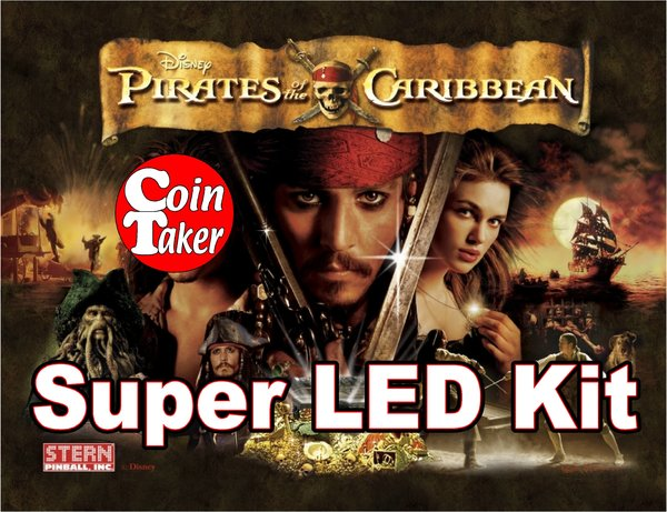 PIRATES OF THE CARIBBEAN-2 LED Kit w Super LEDs