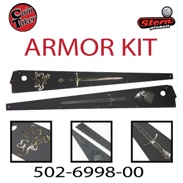 Game of Thrones Armor Kit 502 6998 00