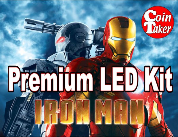 IRON MAN-1 LED Kit w Premium Non-Ghosting LEDs