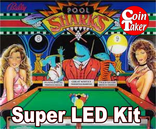 2. POOL SHARKS LED Kit w Super LEDs