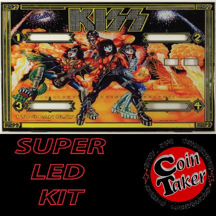2. KISS Bally 78 LED Kit w Super LEDs