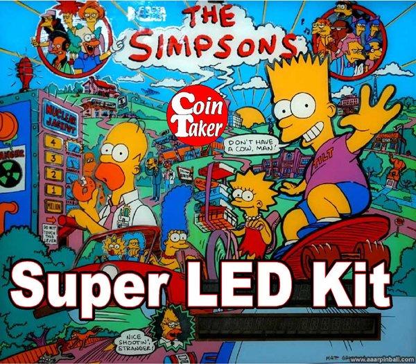 2. SIMPSONS LED Kit w Super LEDs