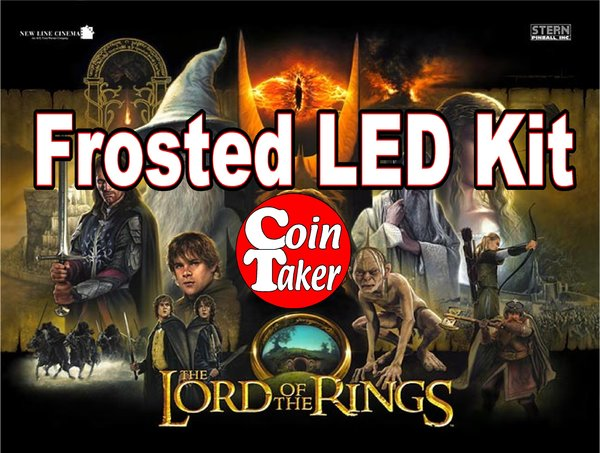 LORD OF THE RINGS-3 LED Kit w Frosted LEDs