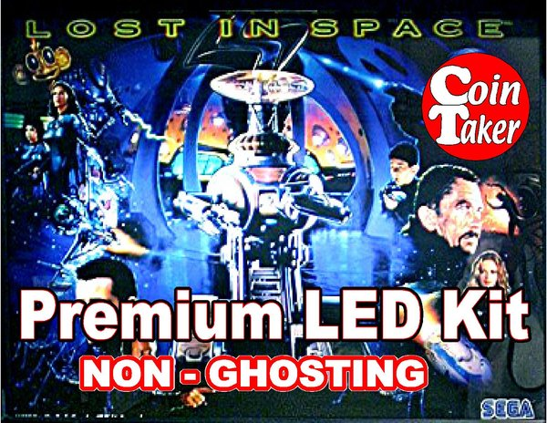 1. LOST IN SPACE  LED Kit with Premium Non-Ghosting LEDs