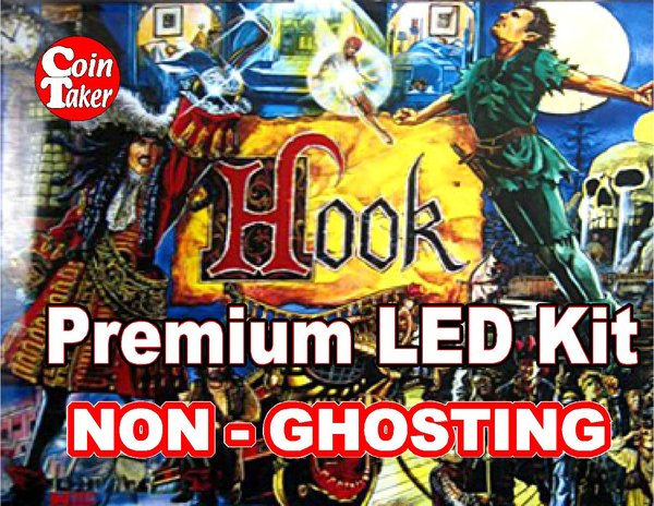 1. HOOK LED Kit with Premium Non-Ghosting LEDs