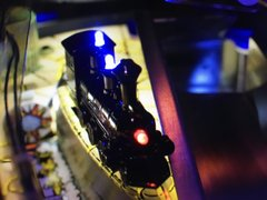 THE ADDAMS FAMILY ILLUMINATED TRAIN MOD