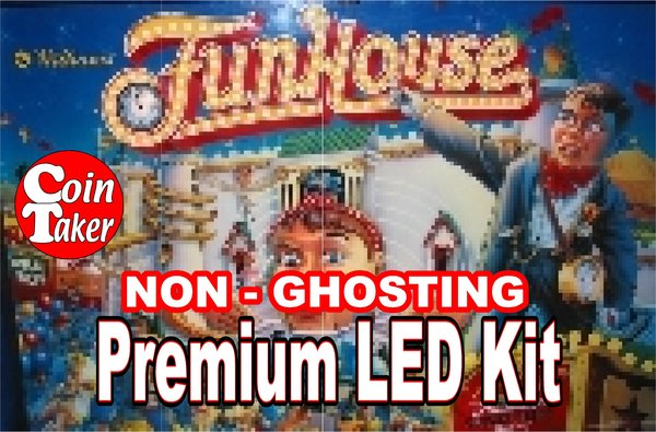 1. FUNHOUSE  LED Kit with Premium Non-Ghosting LEDs