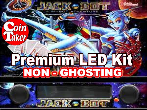1. JACK-BOT LED Kit with Premium Non-Ghosting LEDs