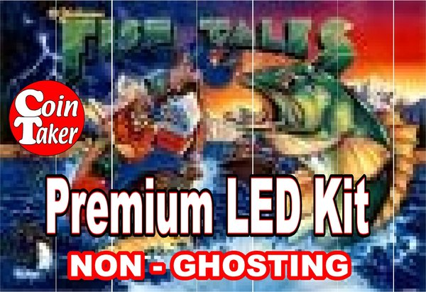 1. FISHTALES  LED Kit with Premium Non-Ghosting LEDs