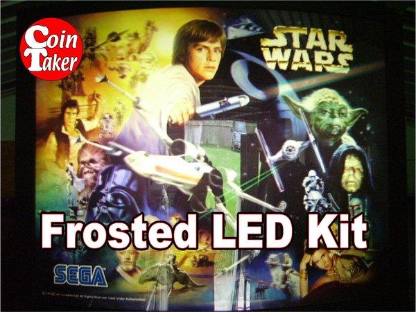 3. STAR WARS TRILOGY Sega 1997 LED Kit w Frosted LEDs