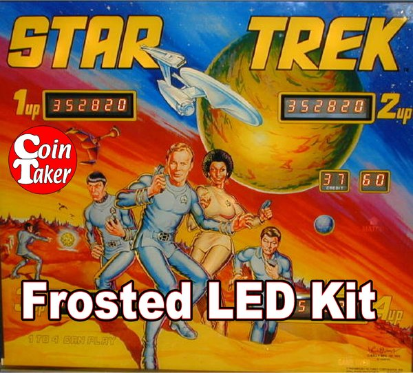 3. STAR TREK- 1978 LED Kit w Frosted LEDs