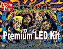 METALLICA-4 LED Kit w Premium Non-Ghosting LEDs (BLACK ROSE EDITION)