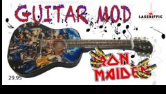 IRON MAIDEN ACOUSTIC GUITAR MOD