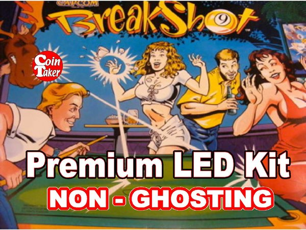 1. BREAKSHOT LED Kit with Super Brite LEDs