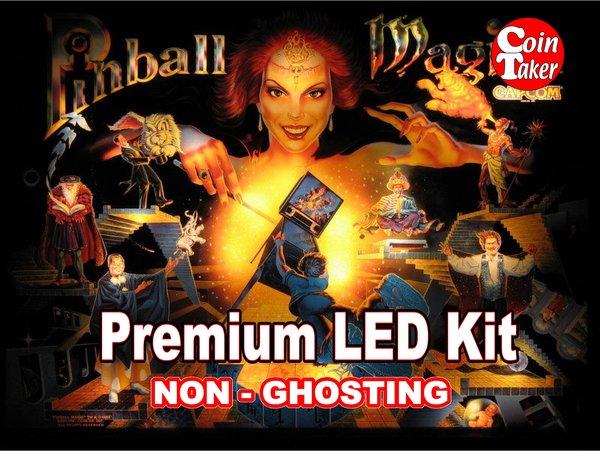 1. PINBALL MAGIC LED Kit with Premium Non-Ghosting LEDs
