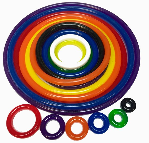 Tron Polyurethane Rubber Ring Kit - 37 pcs.