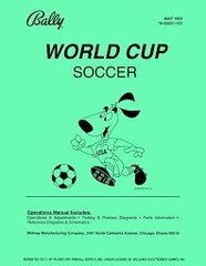 WORLD CUP SOCCER PINBALL MANUAL (REPRINT)